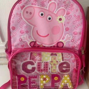 Peppa Pig Girls Backpack